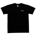 스탠드업로고 블랙컬러 티셔츠