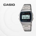 카시오 빈티지 메탈 전자 손목시계 커플시계 A158WA-1