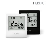 휴비딕 디지털 온습도계 HT-9 시계날짜요일표시