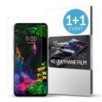 스킨즈 LG G8 우레탄 풀커버 액정보호 필름 (2장)