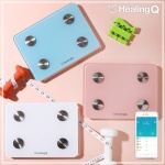 힐링큐 HQ-S3000 스마트 체중계/체지방/BMI/한글앱