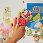 [아이폰 카드범퍼]네온 스마일 스마트톡 케이스