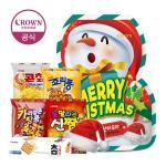 크라운 2019 크리스마스 눈사람 과자 선물세트