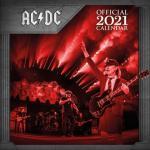 AC/DC 캘린더 2021 Calendar 달력