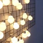 응팔감성 빅볼 전구 LED 가렌드 조명 3M 20등