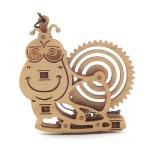 달팽이 (WDT190166)우드토이 3D 목재퍼즐