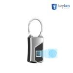 키키 KEY-F10 /지문인식 와이어형 자물쇠