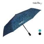 키스해링 전폭나염 3단완전자동우산