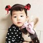 [유호랑]모모밴드-아기가발밴드