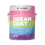 제비스코 드림코트 에그쉘광 화이트 3.8L 벽지페인트