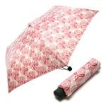 3단 수동 슬림 우산(양산겸용) - 핑크하트