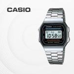 카시오 빈티지 메탈 전자 손목시계 커플시계 A168WA-1