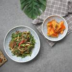 일본식기 블루레인 일본찬기 2종