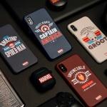 아이폰 8 XS 갤럭시 노트10 마블 빈티지 하드케이스