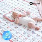 인견 아기 쿨매트 2종(쿨매트+쿨베개)_삐에로(레드)