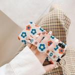 아이폰8 8플러스 꽃 스트랩 실리콘 핸드폰케이스 1481