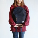 with.BACK PACK/NAVY 위드 백팩