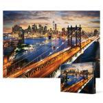2000피스 직소퍼즐 - 맨하탄의 아름다운 일몰 (미니)