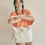 [10월22일 예약배송]Shirring shoulder hobo bag_ivo