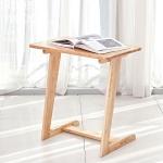 (리퍼브) 원목 소파 사이드 테이블