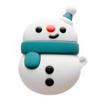 에어팟케이스 1/2 꼬마 눈사람 캐릭터 젤리 366 블루