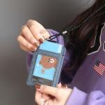 핑크풋 7000시스템포켓카드지갑