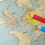 Europe Map Sketch