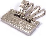 [카라빈카] 자물쇠/쇳대 길상문양 열쇠고리