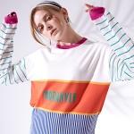 시스루 슬리브 스웨터 See-through sleeve sweater