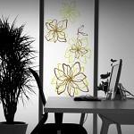 [디자인베이]  라인플라워 (완제품A타입) 그래픽스티커 꽃 포인트 시트지