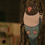 코토리콜렉션(펜파우치) - 모란앵무 (필통)