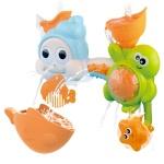빙글빙글 파이프 소라와거북이 아기 목욕놀이 장난감
