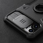 아이폰 12 미니 맥스 프로 카메라 슬라이드 링 케이스