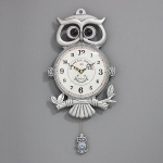 (khhl136)저소음 카이스트 부엉이 시계 (주석)