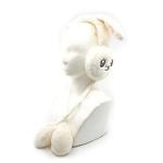 토끼 귀마개 아이보리