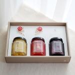 [카네이션] 꿀수제청 3종 선물세트