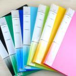 Color spring File A4 / 칼라 스프링 파일