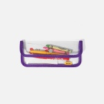 SWSW PENCIL CASE PVC Purple