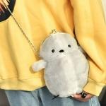 갓샵 병아리 뱁새 파우치 가방 5color 동물 크로스백