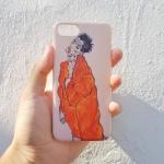 [터프케이스] 에곤쉴레 오렌지 자켓 자화상 케이스