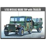 (아카데미과학 ACCA197) 1/35 M151A2 하드탑 with 트레일러 (13012) 군용 트럭 프라모델
