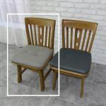 토도 고무나무 원목 식탁 의자