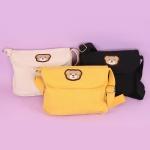 곰돌이 미니 크로스백 인싸템 가방 3color 캔버스 백