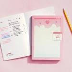(스터디플래너) 네 달의 시간 - 핑크픽셀월드