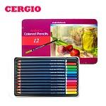 부드러운 세르지오 유성 색연필 12색