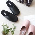 [2HOT] 인조가죽 남녀 뽀글이 슬리퍼