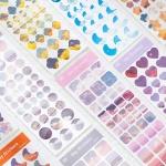 하늘 모양 장식  스티커 6매 세트 다꾸용품