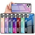 아이폰12 PRO MAX MINI 그라데이션 강화유리 폰케이스
