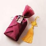 [인디고샵] 전통 삼베 포장천 [자주색]