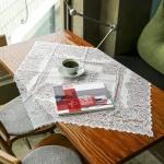 프렌치 레이스 테이블보(그레이스) (80x80cm)